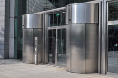 Office Building Entrance Royalty Free Stock Photography