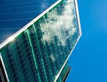 Office building facade Stock Images