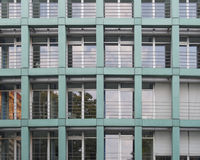 Office building facade, Dresden Germany Stock Image