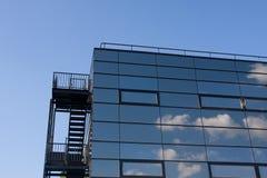 Office building fire escape Stock Photos