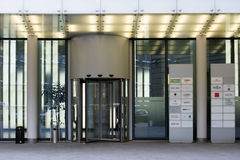 Office Building Frankfurt Stock Image