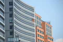 Office building. With glass / concrete walls Royalty Free Stock Image