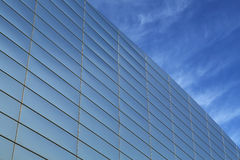 Office building glass exterior Royalty Free Stock Images