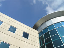Office Building Glass Exterior detail Stock Photography