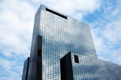 Office building with glass facade Stock Photos