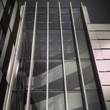 Office building glass facade Royalty Free Stock Images