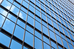 Office building glass wall Stock Image