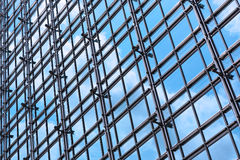 Office building glass wall Stock Photo