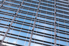 Office building glass wall Royalty Free Stock Images