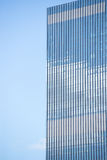 Office building glass window surface pattern Stock Photo