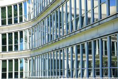 Office Building Glass Windows Royalty Free Stock Photography