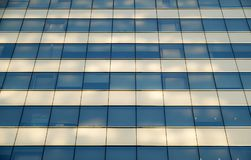 Office Building glass windows and Sunlight photo Royalty Free Stock Photos