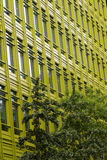 Office building with green frontage. Stock Photos