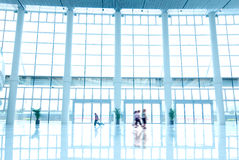 Office building hall Stock Photography