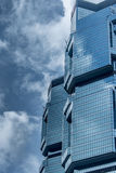 Office building in Hong Kong Royalty Free Stock Photo