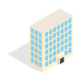 Office building icon, isometric 3d style Stock Photo