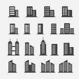 Office building icon Stock Photos