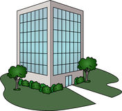 Office Building vector illustration