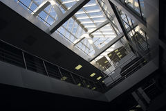 Office building interior. Stock Photos