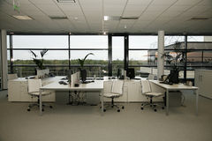 Office building interior Stock Images