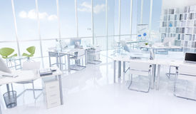 Office Building interior Furniture Concept stock image