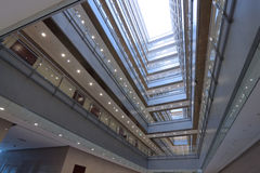 Office Building Interior. View of office building interior Stock Images