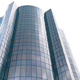 Office building isolated on white Royalty Free Stock Images