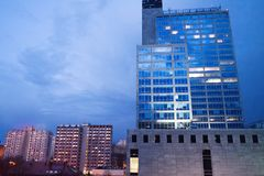 Office building in Katowice, Poland Royalty Free Stock Photography