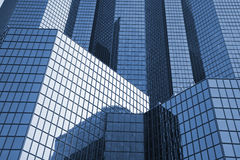 Office building - La Defense. Futuristic oil corporate office building - La Defense, Paris Royalty Free Stock Photos