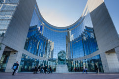Office building in La Defense district Royalty Free Stock Photography