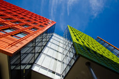 Office building. In London with blue sky stock photography
