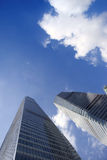 Office building at lujiazui,pudong Royalty Free Stock Photos