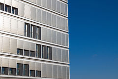 Office building with many shutters Royalty Free Stock Photography