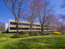 Office building. Modern office building in the suburbs Stock Photo