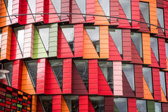 Office building. A modern office building in sweden stock image