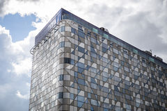 Office building. A modern office building in sweden stock images