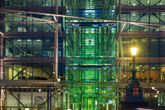 Office building near Tower bridge. Night view Stock Image