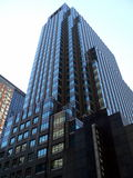 Office Building in New York City. A modern office building in New York City - View 2 royalty free stock images