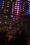 Office building at night. In shenyang city China Stock Photography