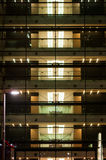 Office building by night Royalty Free Stock Photo