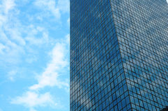 Office building over sky Royalty Free Stock Images