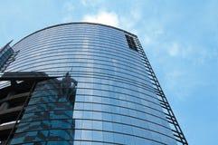 Office building over sky Stock Photos