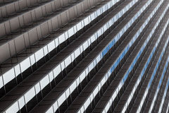 Office building pattern in San Francisco - California. USA stock images