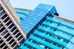 Office Building photograph. Photo of office building from the outside Royalty Free Stock Images