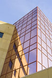 Office building with pink windows Stock Images