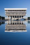 Office Building Reflection. Office Building Refecting in Pond Stock Photography