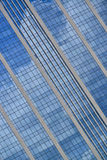 Office building with reflection of clouds Royalty Free Stock Image