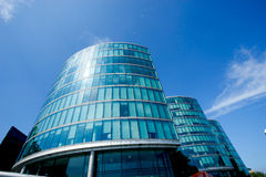 Office building and reflection in London, England, background Royalty Free Stock Image