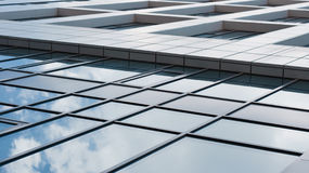 Office building and reflection Royalty Free Stock Photos