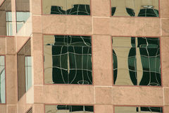 Office Building Reflections Stock Image